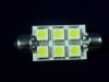 Led Soffitte 37mm weiss 6 SMD 96LM